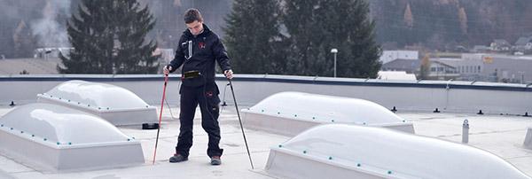 izolacija ravne pohodne strehe