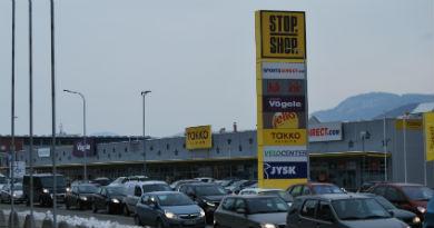STOP SHOP po Sloveniji