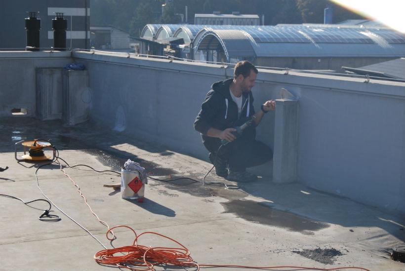 Natančna sanacija streh